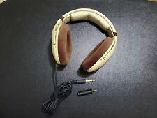 Sennheiser HD 598 Over-Ear Headband Headphones - Ivory