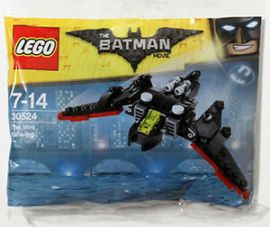 The Lego Batman Movie THE MINI BATWING Set 2017 Polybag 30524 Bat Wing Promo Bag