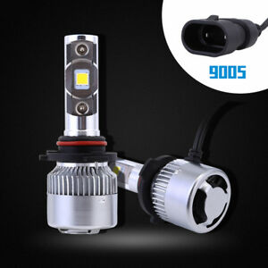 64W 9600LM 9005 HB3 LED Headlight Light Bulbs Lamp Replacement White Waterproof