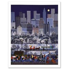 """Jane Wooster Scott """"New York, New York"""" Limited Edition Lithograph on Paper"""