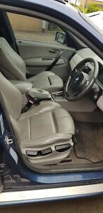 BMW X3 E83 GREY LEATHER INTERIOR with Door Cards