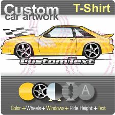 Custom T-shirt 87-90 91 92 93 Mustang Saleen SR SSC SC not affiliated with ford