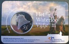 Coincard Waterloo 5 euro in UNC kwaliteit in CuNi