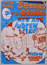 1967 Concert Poster: Second Coming, New Ages, Andrew Staples, Berkeley