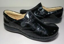 Clarks Size 6.5 M UN LOOP Black Patent Leather Loafers New Womens Shoes