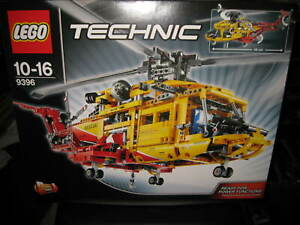 LEGO  TECHNIC RESCUE  HELICOPTER    #9396 UNOPENED  AS NEW