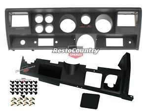 Holden GTS Upper + Lower Dash Fascia Facia Kit HJ HX HZ Includes Screws + Clips