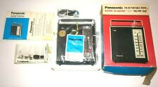 Vintage Panasonic RF-561 FM-AM Electric or Battery Portable Radio NEW, OLD STOCK