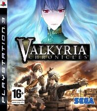 Valkyria Chronicles PS3 Very Good Condition Sega Strategy