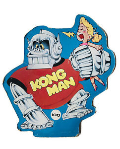 Kong Man The Game - Cardboard Top Replacement