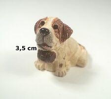 chien miniature en céramique ,collection, vitrine, hondje, dog   G-chiens-W23