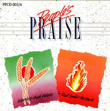 People's Praise - Worship And Adore   He Shall Comfort The Earth CD 1990 *RARE*