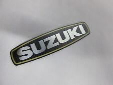 NOS SUZUKI EMBLEM GT GT750 750 TS100 TS185 TS 100 185 ENGINE SIDE COVER emblem