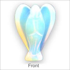 Mineral Semi Precious Gem Stone Milky Opalite Keepsake Divine Guardian Angel