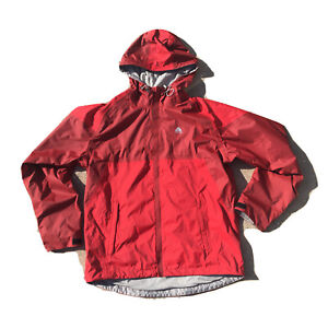 Nike ACG Fit Storm 3 Jacket/Windbreaker Mens Full Zip Hooded Medium Red