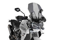 PUIG TOURING SCREEN TRIUMPH TIGER 800/XC/XR/XRX/XRT/XCX/XCA 18 DARK SMOKE