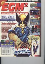 EGM2 March 1995 - #9 Mortal Kombat 3 Exclusive Kung Lao Interview! Vol 1 Iss 9