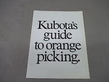 Kubota   B5100 B6100 B7100DT L185 L245 M4000   Sales  Brochure  Free Shipping