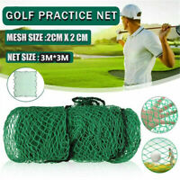 Golf Practice Net Training Heavy Duty Impact Netting For Golfer Outdoor 3Mx3M