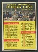 1961 Topps #198 Checklist VG/VGEX UER 17600