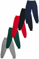 JOGGING BOTTOMS - Kids Warm Fleece Style Plain Joggers Bottom Pants 18m 15Years