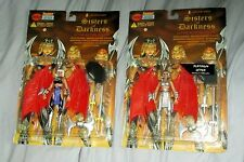 1998 Letha Sisters of Darkness Two Figures W/Variant Lightning Comics New Sealed