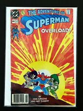 ADVENTURES OF SUPERMAN #469 DC COMICS 1990 VF- NEWSSTAND EDITION