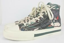 PS by Paul Smith High Top Sneakers Parrot Nylon Pink Shoes Mens Size 10 (US)