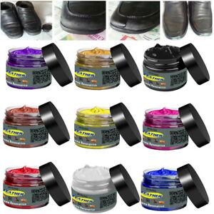 Leather Repair Filler Cream Kit Restore Car Seat Sofa Scratch Scuffs Holes 50g z