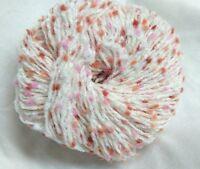 10 pelotes laine velours pompon  / fabriqué en France