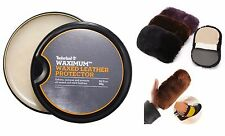 Timberland Waximum Waxed Leather Protector Soften&Protects WITH CLEANING CLOTH!
