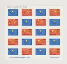 NVPH Nederland V 1662 - 1663 blok sheet MNH PF Decemberzegels 1995 Netherlands