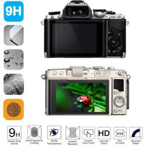 9H HD Tempered Glass Film Camera LCD Screen Cover for Olympus EM5/EM10/EM1