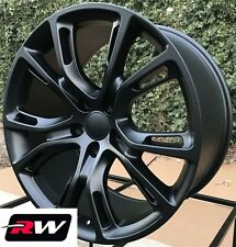 "22"" inch RW Wheels for Jeep Grand Cherokee Matte Black Rims SRT8 Spider Monkey"