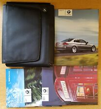 GENUINE BMW 3 SERIES E92 COUPE HANDBOOK MANUAL WALLET 2006-2010 # C-910