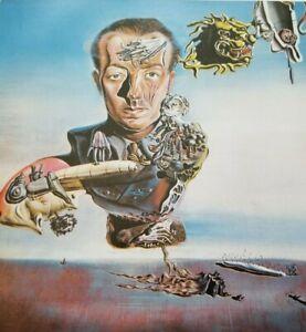 PORTRAIT OF PAUL ELUARD (French Poet & Surrealist Movement) Salvador Dali Print