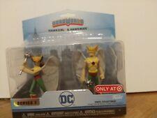 Heroworld Hawkman & Hawkgirl Action Figure Toys