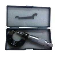 External Micrometer 0-25mm Metric External Outside Micrometer Gauge