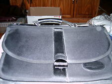 Stationary - Briefcase - Black Nylon w- Lots of Pockets and Zips