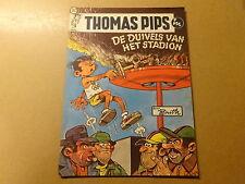 STRIP / THOMAS PIPS 20: DE DUIVELS VAN HET STADION   1ste druk