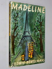 MADELINE - Ludwig Bemelmans (c.1955) Hard cover with dust jacket Illustrated VG