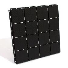 Gehwegbefestigung Platten 1,5qm = 9 Wegplatten Gitter Zufahrt Beetplatte schwarz