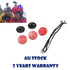 5 x Insurance Tether Straps + 3M Sticker Mount for GoPro Hero 1 2 3 3+ 4 Session