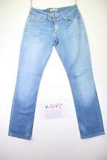 Levi's 470 Straight Fit (Cod.Y1492) tg.47 W33 L34 jeans usato Vita Bassa donna