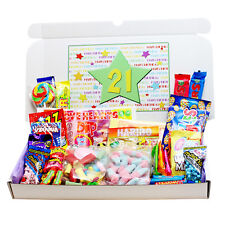 21ST BIRTHDAY RETRO SWEETS GIFT BOX