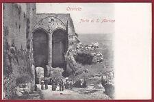TERNI ORVIETO 09 PORTA Cartolina primi '900 Edizione ALTEROCCA