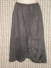 Womens Sliperfection Black Half Slip Made in Usa Size S W:22-32 H:36 L:23