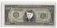 Novelty 500 Dollar Justin Bieber Bill