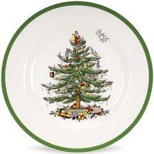 SPODE CHRISTMAS TREE 4 DINNER PLATES 27cm - NEW/UNUSED