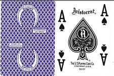 OHIO Aristocrat Binion's Horseshoe Casino Purple Jumbo Tech Art Playing Cards